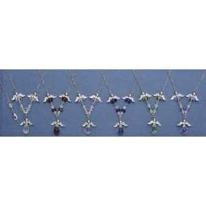 Club Pack of 24 Inspirational Jewelry Angel Wings Crystal