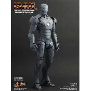 IRON MAN Mark III SDCC Sideshow Exclusive Gunmetal Grey