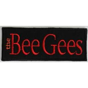 The Bee Gees Music Rock Band Biker Clothing Jacket Shirt Iron on Patch