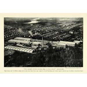1926 Print Worlds Largest Cotton Denims Mill Greensboro North Carolina