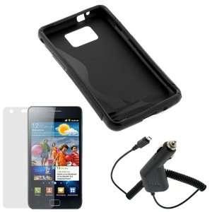 3pc Accessory Bundle Kit for Samsung i9100 Galaxy S II   Combo Set