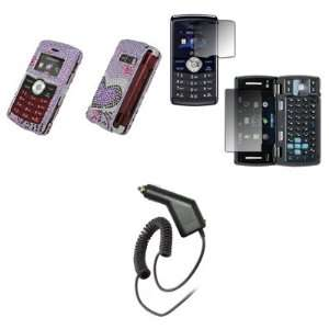 Cover Case + Screen Protector + Car Charger (CLA) for LG enV3 VX9200