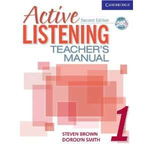 Active Listening 1 Teachers Manual with Audio CD (Active Listening