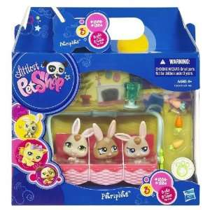 Bunny Petriplets Littlest Pet Shop Petriplets Toys & Games
