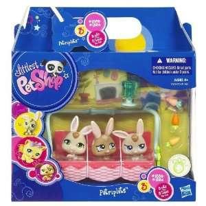 Bunny Petriplets Littlest Pet Shop Petriplets Toys & Games