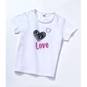 My Twinn Girls White Love Tee Shirt Toys & Games