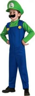 Super Mario Bros.   Luigi Toddler/Child Costume  Clothing