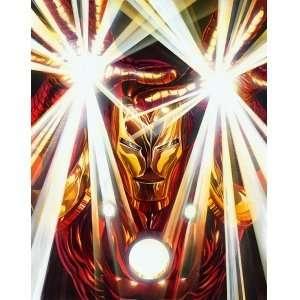 : Iron Man Iron Man 2 Marvel Comics Disney Fine Art: Home & Kitchen