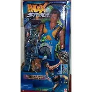 Max Steel Mountain Attack Figure Toys & Games