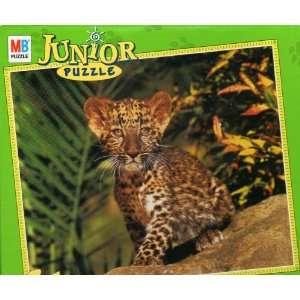 MB 100 piece Jr. jigsaw puzzle   Leopard Toys & Games