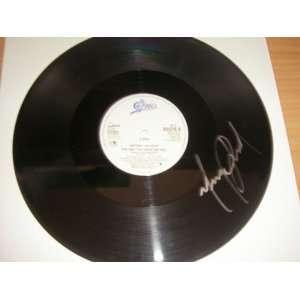 12 inch single Record Vinyl Lp Hand Signed By Michael Jackson W/COA