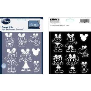 Stick Family Decal Kit   Disney Mickey Mouse Ears Special Edition   14