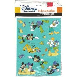 Disney Mickey Mouse and Friends Underwater Scrapbook Stickers (7L13056
