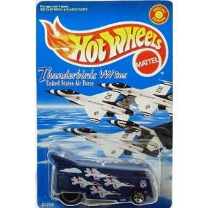 VW Volkswagen Thunderbirds Drag Bus Hot Wheels   Special Limited