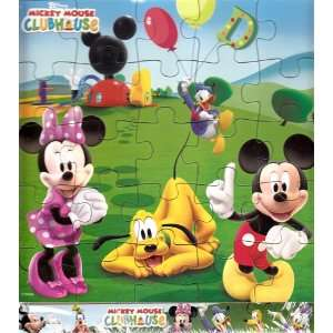 Disney Mickey Mouse Clubhouse Wooden Puzzle 25 Piece  Toys & Games