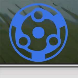 Naruto Blue Decal Madara Eternal Mangekyo Sharingan Blue