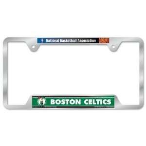 Celtics Metal License Plate Frame