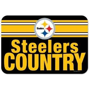 NFL Pittsburgh Steelers Mat   Country