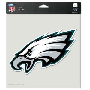 x8 Die Cut Decal NFL Football Sports Team Auto Car Truck Sticker