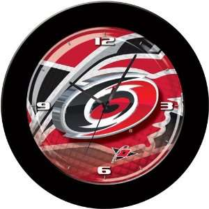 Carolina Hurricanes NHL 3D Team Logo 12 Wall Clock
