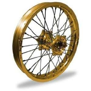 Pro Wheel Pro Wheel 2.15x18 MX Rear Wheel   Gold Rim/Gold Hub , Color