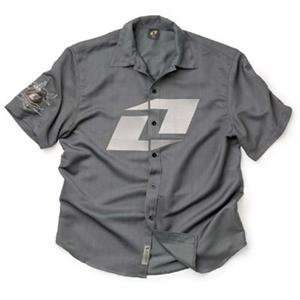 One Industries Class Pit Shirt   2X Large/Charcoal