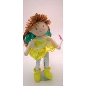 10 Russ Berrie November Fairy Rag Doll Toys & Games