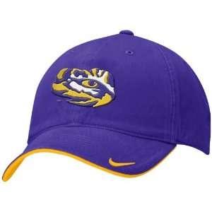 Nike LSU Tigers Purple Reversible Rally Hat