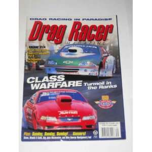 Drag Racer Magazine September 2001 John Mazmanian Y