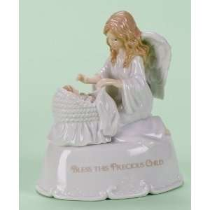 Musical Guardian Angel Bless This Child Religious Figure   6 Baby