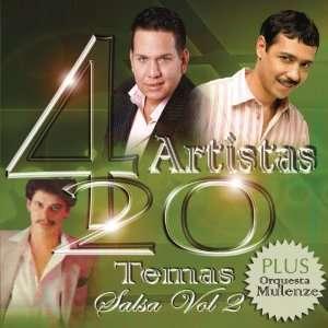 4 Artistas 20 Temas Salsa, Vol. 2 Various Artists Music
