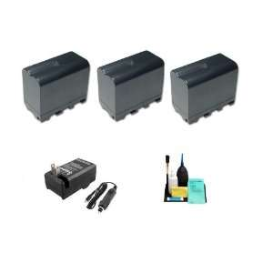 3 Pack Of Li Ion Extended Life Replacement Battery for