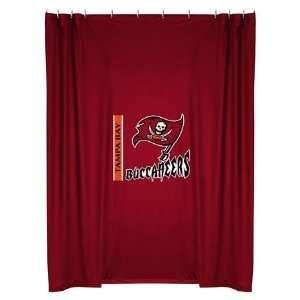 Tampa Bay Bucs Buccaneers Bathroom Shower Curtain