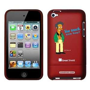 Apu from The Simpsons on iPod Touch 4g Greatshield Case