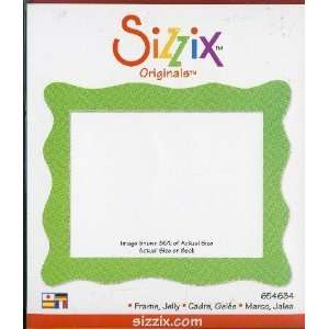 Sizzix Originals FRAME JELLY Die RED:  Home & Kitchen