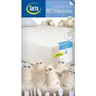 Serta 10 Gel Foam King Mattress by Sleep Innovations