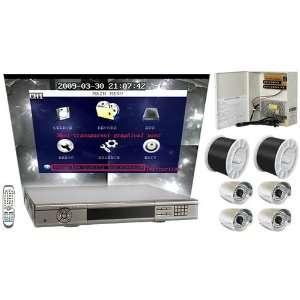 16 Channel Pentaplex Standalone DVR Package/Surveillance System H.264