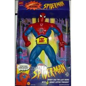 SPIDERMAN 18 ELECTRONIC TALKING Toys & Games