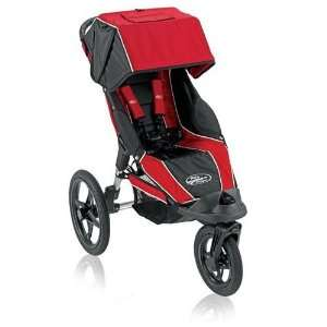 2009 Baby Jogger Summit 360 Single Stroller In Red/Black: Baby
