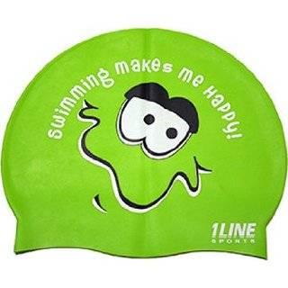 1Line Sports Swim Chick Silicone Swim Cap