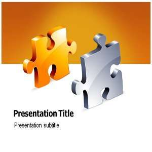 Jigsaw Powerpoint Templates   Jigsaw Powerpoint Background Templates