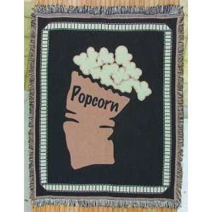 Popcorn Home Theater Throw Blanket