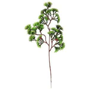 Artificial Simulation Tree Plant Ornament Brown Green