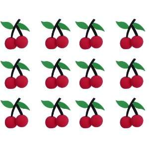 Red Tree Cherries Car Truck SUV Antenna Topper   12PK Automotive