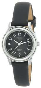 Timex Womens T29291 Classic Black Leather Strap Watch Timex Watches