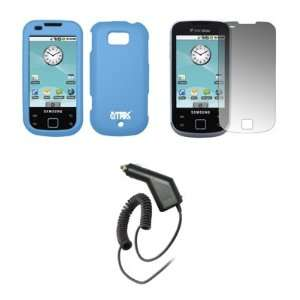 Case + Screen Protector + Car Charger (CLA) for Samsung Acclaim R880