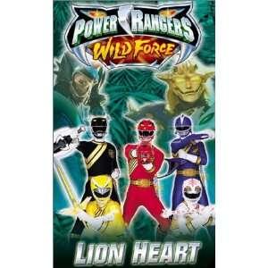 Power Rangers Wild Force   Lion Heart [VHS]: Ricardo