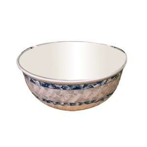 Thunder Group 5307DL 27 oz Blue Dragon Swirl Bowl Kitchen