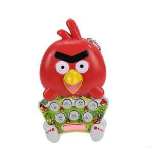 Hand held Games Angry Bird shaped Colorful Light Mole Attack Mouse