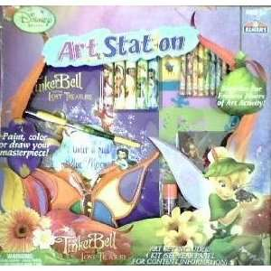 Disney Fairies Art Station Tinker Bell and the Lost Treasure
